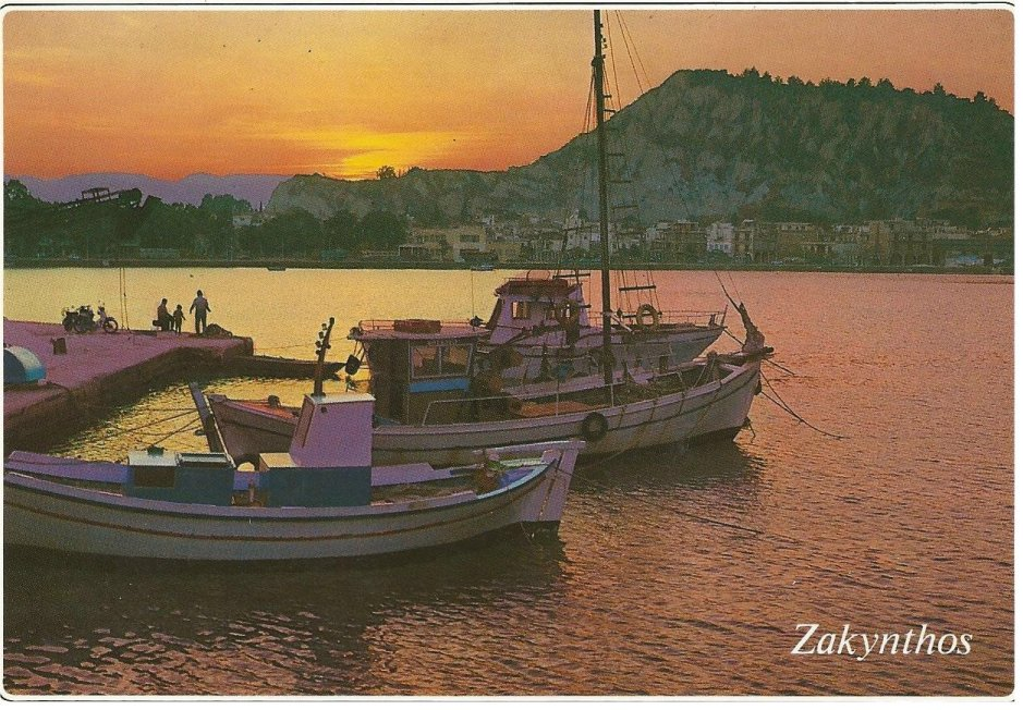 The island of Zakynthos (Zante)