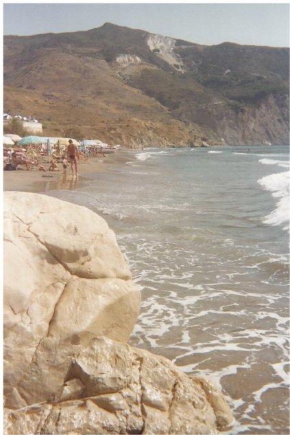 The beach at Tsilivi
