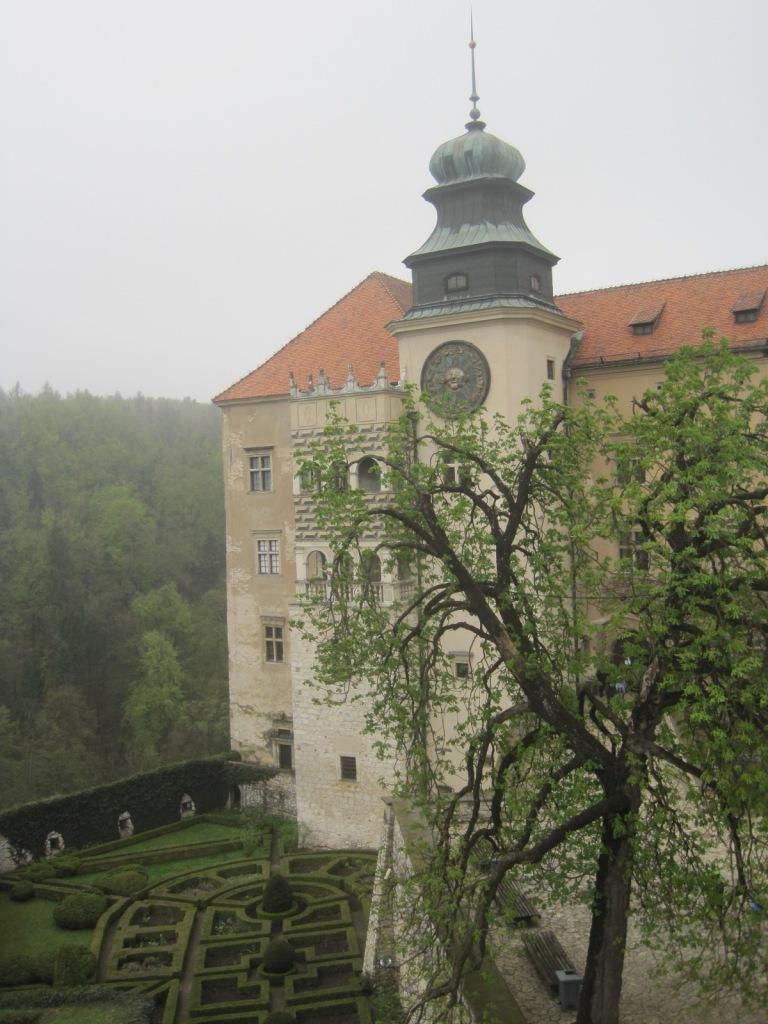 The castle at Pieskowa Skała