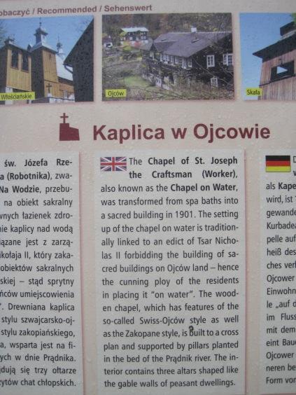 The chapel history