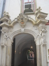 One of Krakow's many intriguing doorways