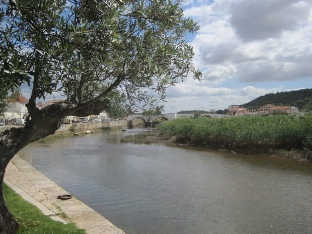 The Roman bridge over the River Arade