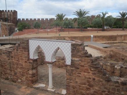 A Moorish archway