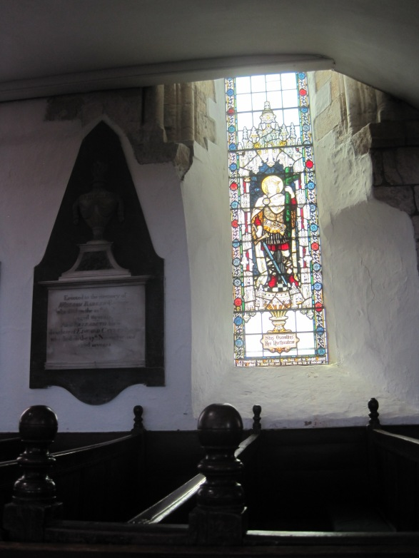 The atmosphere in Whitby's St. Mary's is so serene, despite the Dracula connection