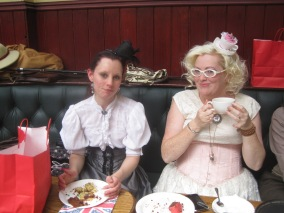 Cake and fascinators were everywhere!