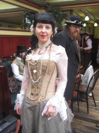 Rebecca looked fabulous!