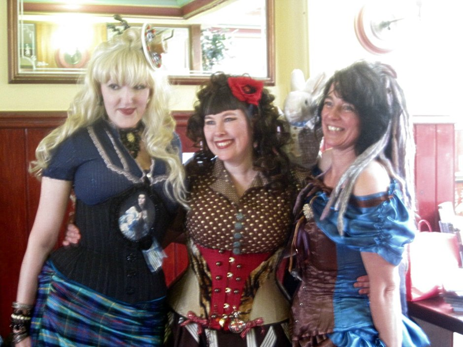 Lisa, Emilly Ladybird and Claire