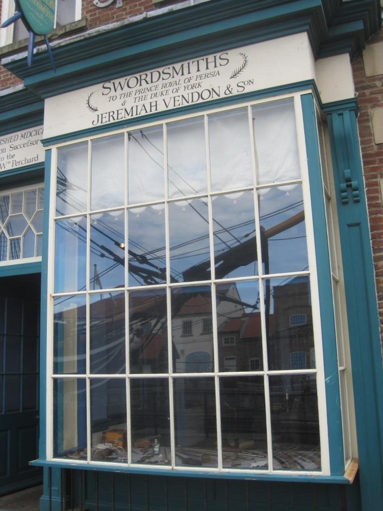 The swordsmith's- do take care in here!