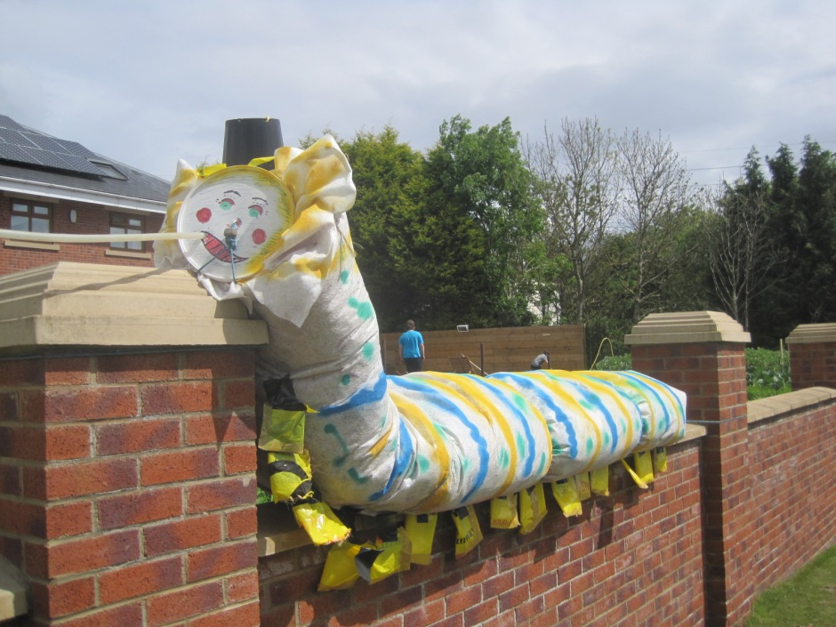 And everybody loved the caterpillar!