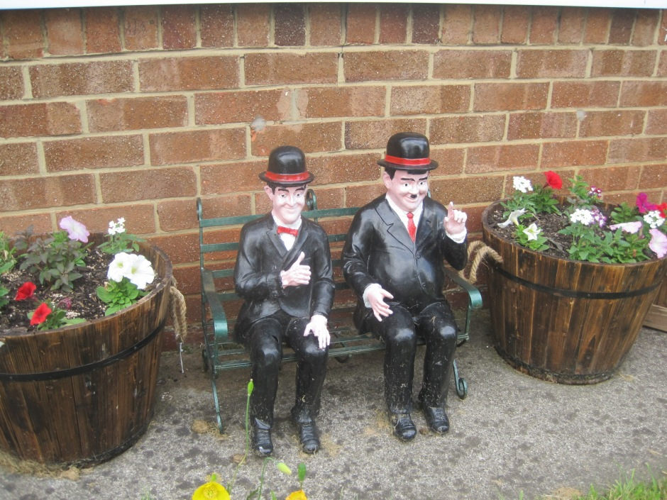 And Laurel and Hardy seemed to approve.