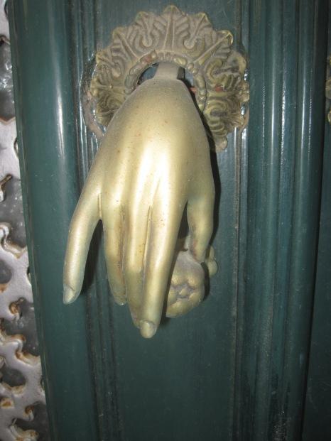 Fatima's very delicate hand
