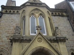 The Masonic Hall windows
