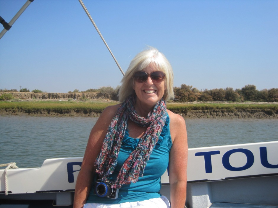 We went birdwatching on the Ria Formosa boat tour