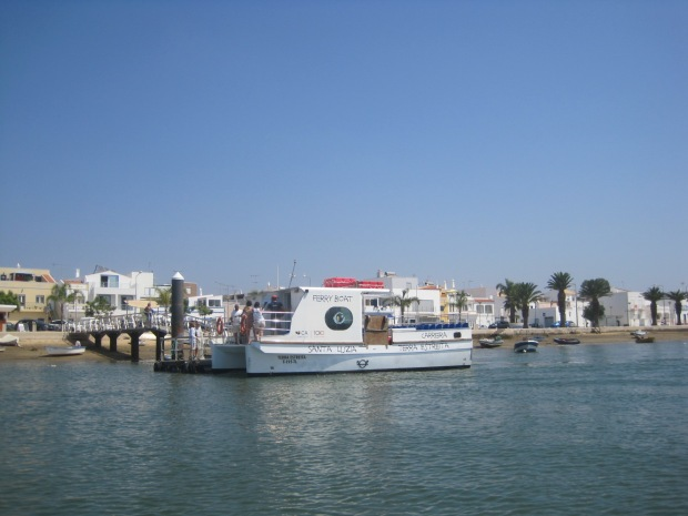 And the Santa Luzia ferry