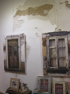 Windows and door paintings