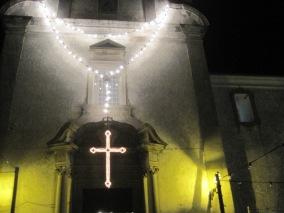 The Carmo Church, Tavira- just a subtle tinge of yellow