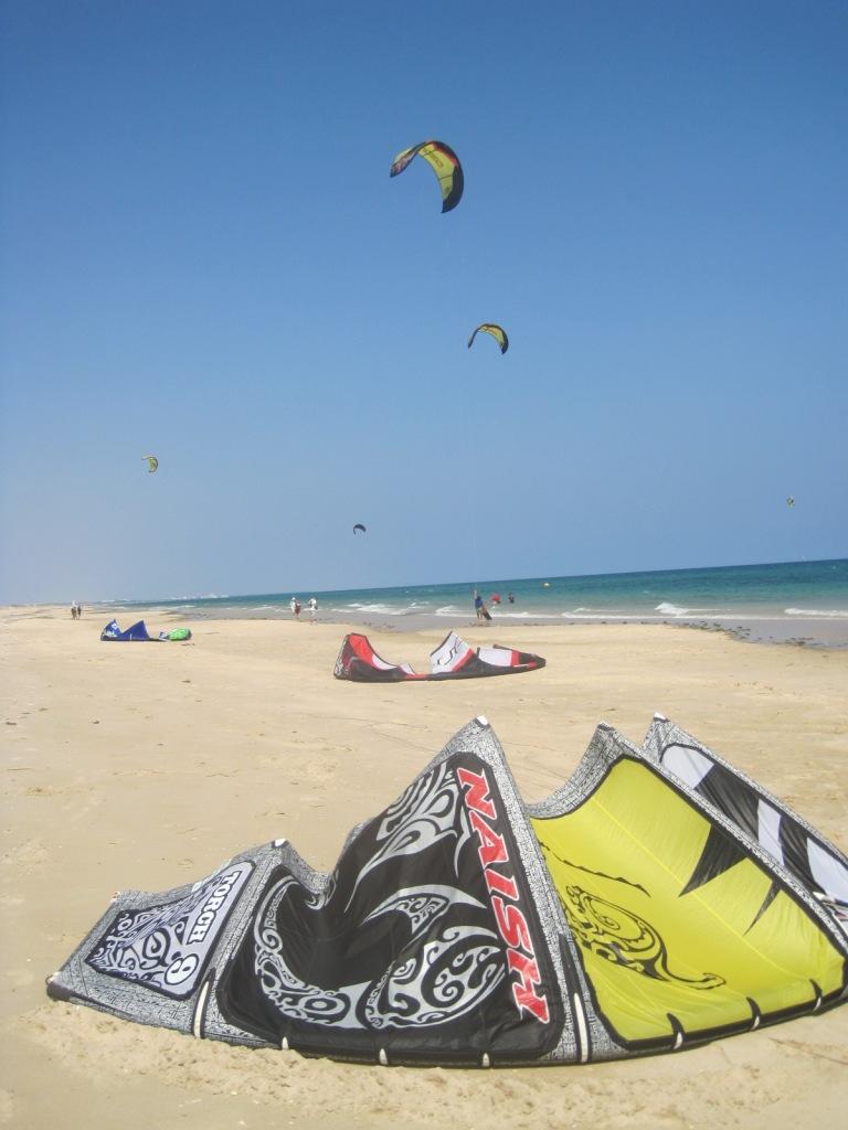 Flying high in the Algarve.