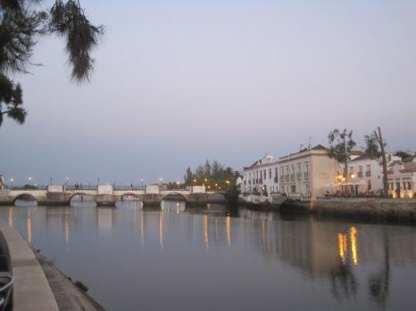 Ponte Romana in the twilight
