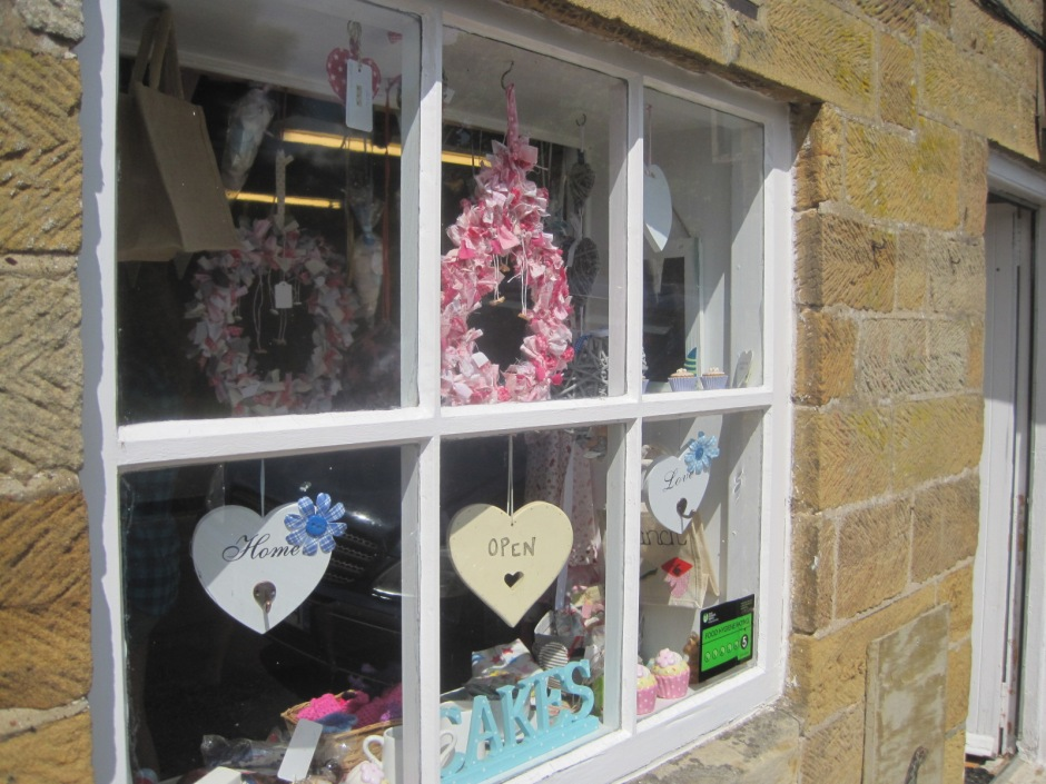 One of the pretty little village shops in Lealholm