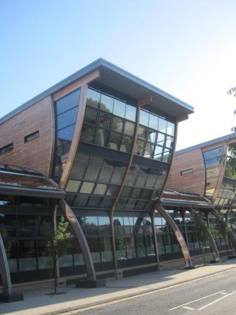 Durham University Library- brand, spanking new architecture