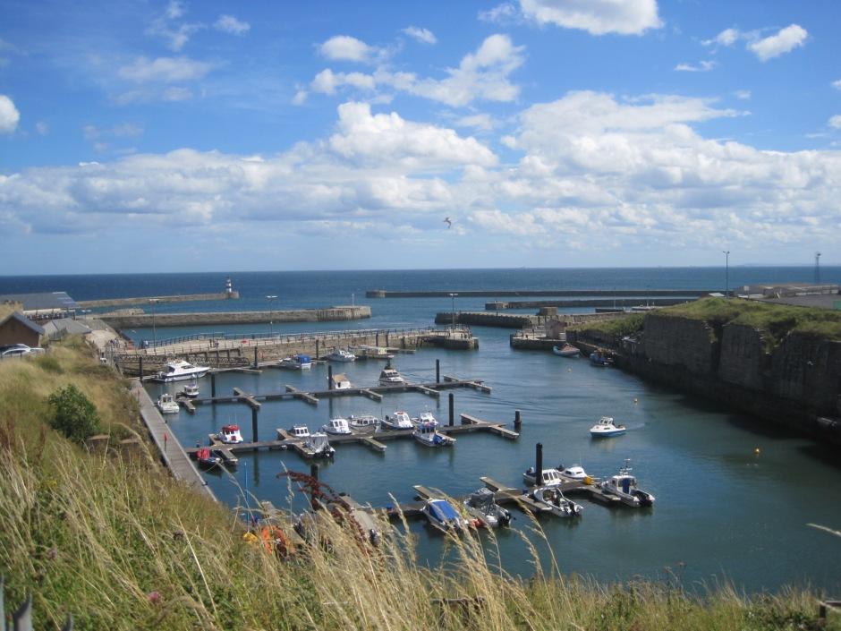 Seaham's burgeoning marina