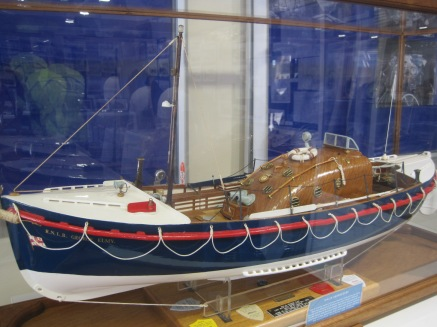 A replica of RNLB George Elmy