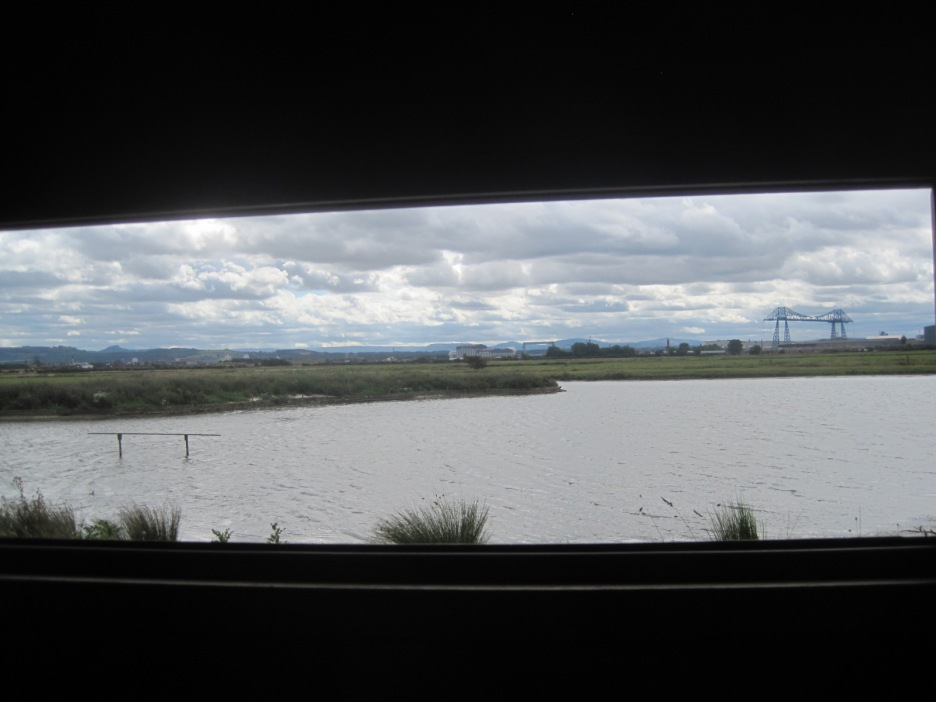 We did some serious stuff birdwatching in the hides too. Sssh- be very quiet!