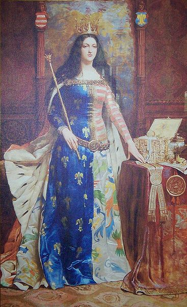 "Jadwiga, ""king"" of Poland- image from Wikipedia"