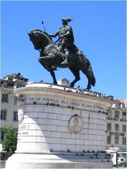 Dom João I, Lisbon