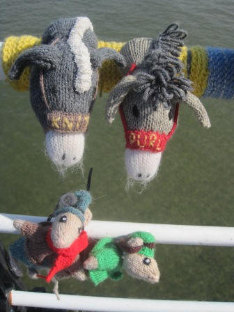 Knit and Purl are adorable.