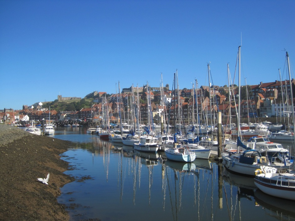 Whitby harbour, North Yorkshire