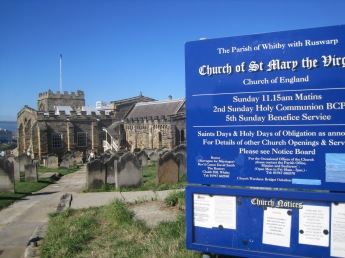 Don't forget to look around St. Mary's Church.