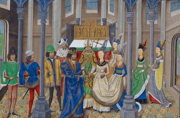 The wedding of King João 1, February 11th, 1387- from Wikipedia