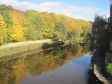 The Autumn reflections in the water were beautiful