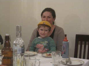 And with Mum, Ilona