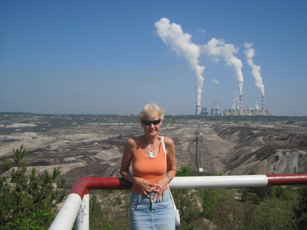 Seldom have I been photographed at an opencast mine