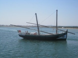 "The caraval ""Bom Sucesso"" which sails from Olhao"