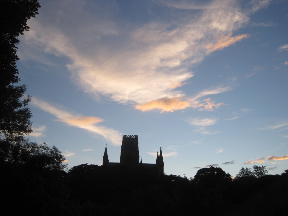 And another Durham day is done.
