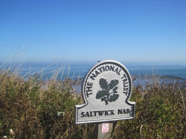 This whole coast is protected by the National Trust.