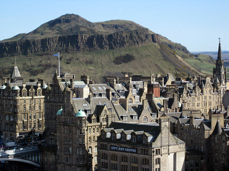 Arthur's Seat, Edinburgh- courtesy of Wikipedia