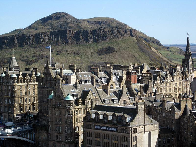 Arthur's Seat, Edinburgh- courtesy of Wikipedia