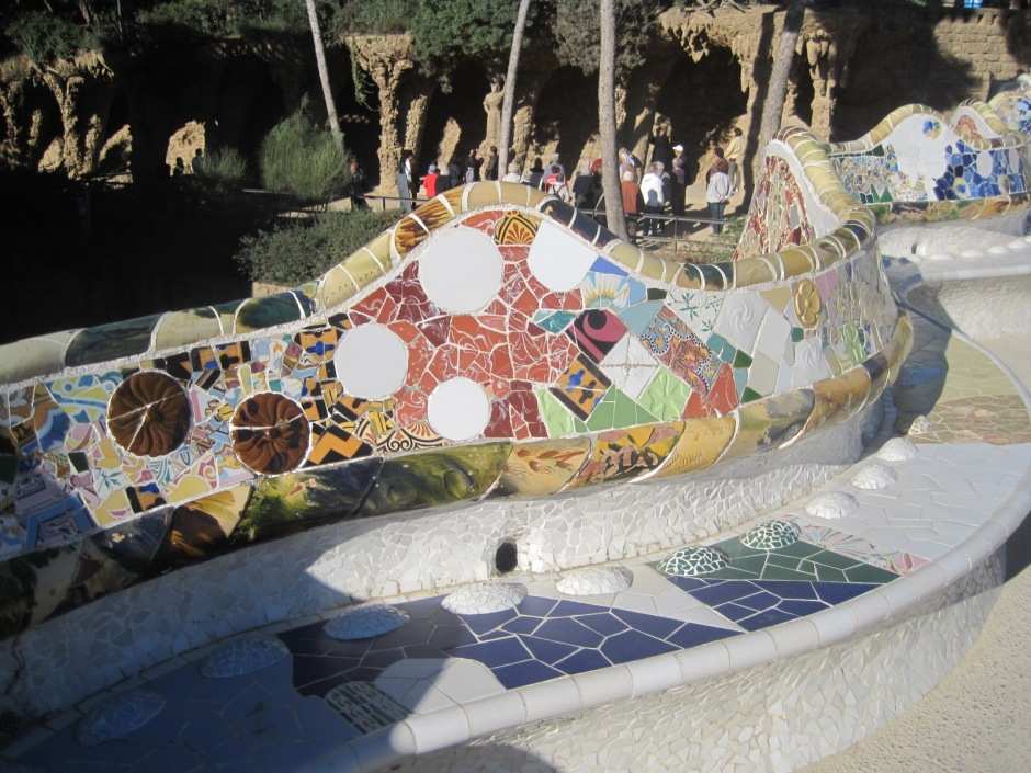 I've never seen anything more beautiful than Parc Guell!