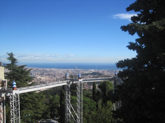 The heights of Tibidabo