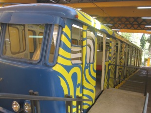 You can ride the funicular