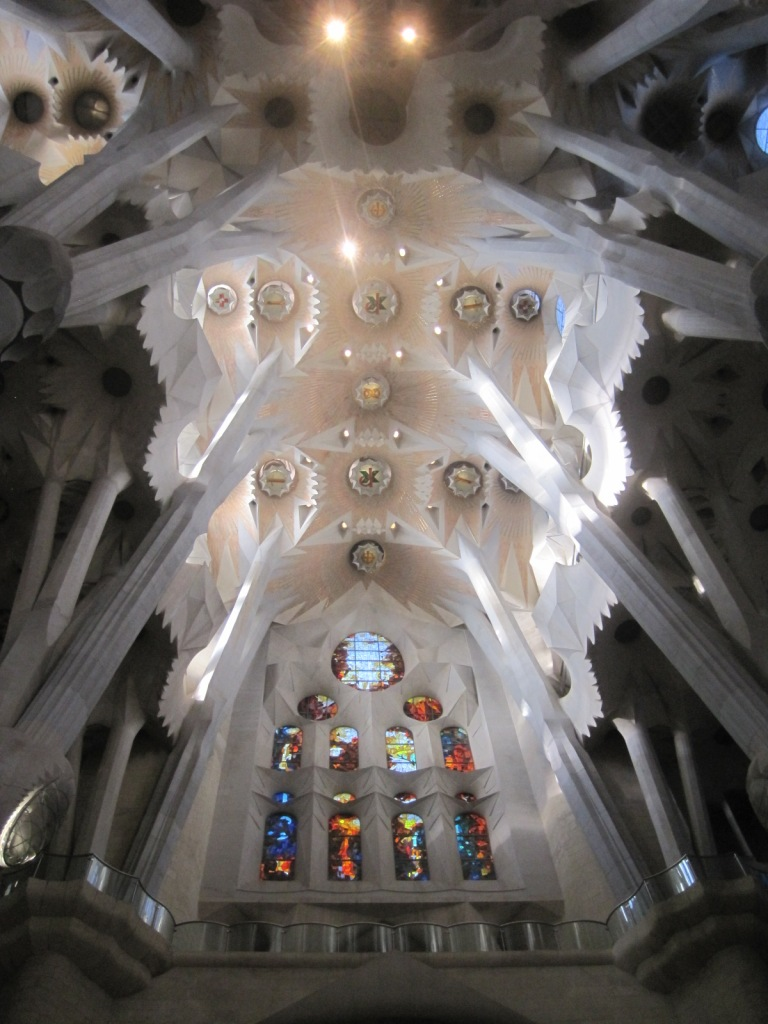 The Basilica of Sagrada Familia