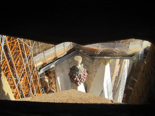 And look down on the newest constructions.