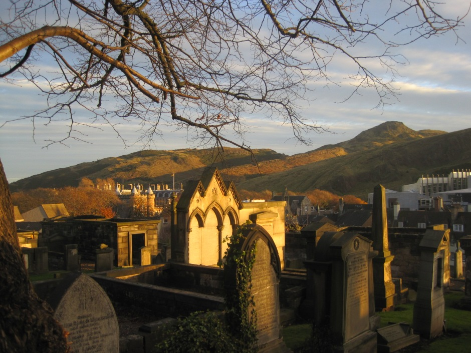 Magnificent Arthur's Seat, viewed from Calton Hill