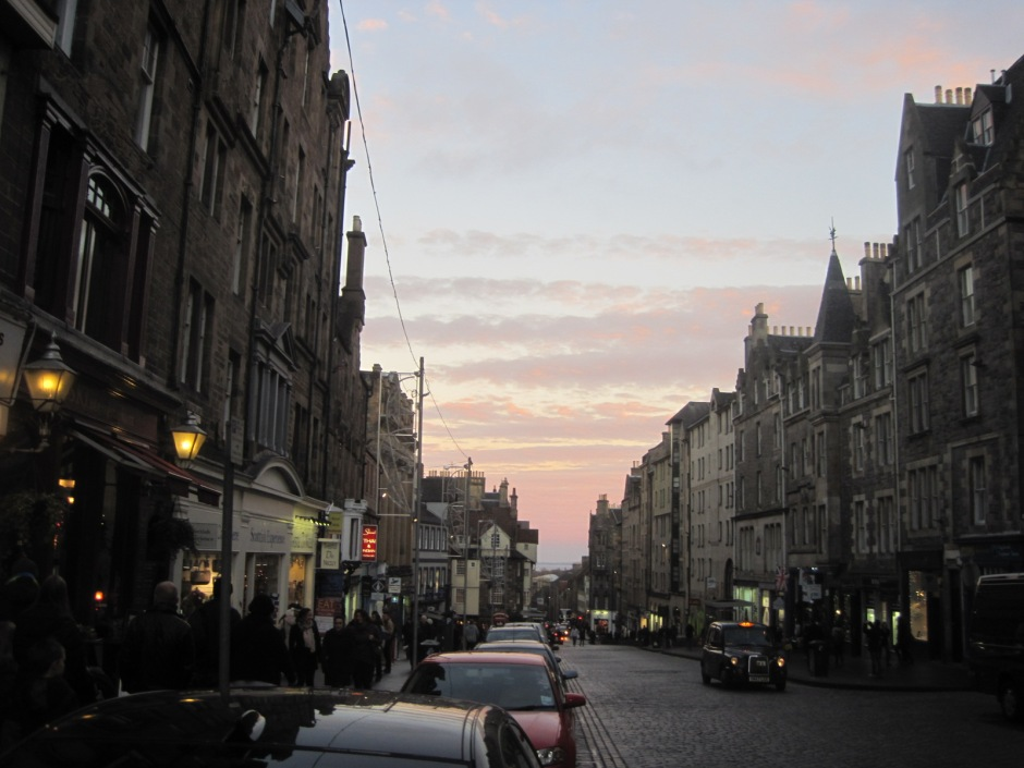 And all the way down the Royal Mile