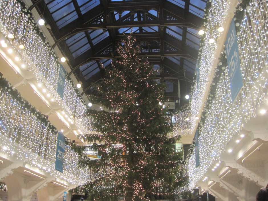 Jenners Christmas tree