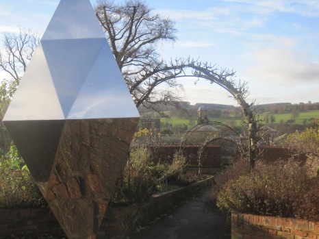 And the Sensory garden, with its reflective prism,